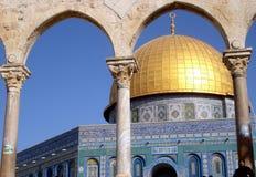 Jerusalem, Al--Aqsamoschee Stockfotos