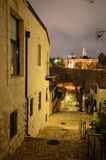 Jerusalem Alleyway Stock Photos