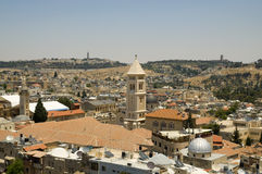 Jerusalem-alte Stadt Stockbilder