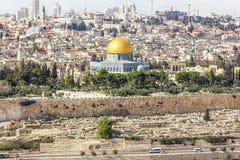 Jerusalem-alte Stadt Stockbild