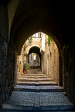 Jerusalem,an Alley In The Jewish Quarter Royalty Free Stock Image