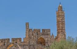 Jerusalem ancient Citadel Royalty Free Stock Image