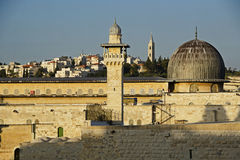 Jerusalem ancient walls Royalty Free Stock Image