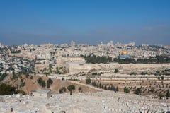 Jerusalem-Ansicht Lizenzfreie Stockfotos