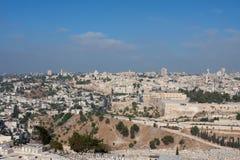 Jerusalem-Ansicht Lizenzfreies Stockbild