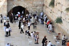 The Wailing Wall - Israel stock photo