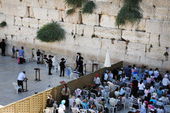 The Wailing Wall - Israel Royalty Free Stock Images