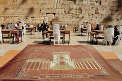 The Wailing Wall - Israel Royalty Free Stock Photography