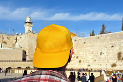 The Wailing Wall - Israel Stock Photo