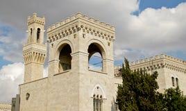 Jerusalem Architecture. View of a building made of jerusalem's stones.  Jerusalem, Israel Royalty Free Stock Images