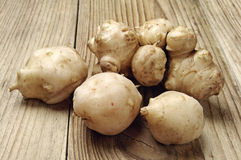 Jerusalem artichoke Stock Photo