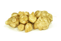 Jerusalem artichoke. S on white background Stock Photo
