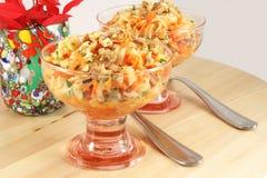 Jerusalem artichoke salad Royalty Free Stock Image