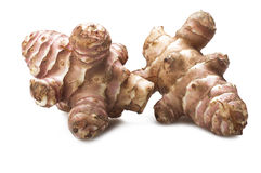 Jerusalem artichoke, topinambur Stock Image