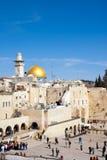 Jerusalem - att jämra sig vägg Royaltyfri Fotografi
