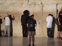 jerusalem att jämra sig vägg Royaltyfri Bild