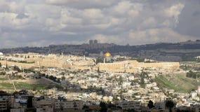 Jerusalem av guld Fotografering för Bildbyråer