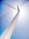 Jerusalem bridge pylon 2010 Stock Image