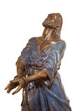 Jerusalem - The bronze statue of Servus Domini (The Servant of The Lord) or  in Church of St. Peter in Gallicantu Royalty Free Stock Photo