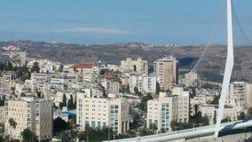 Jerusalem. Building Jerusalem street Stock Photo