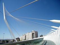 Jerusalem chords Brücke die im Mai 2010 Stockfoto