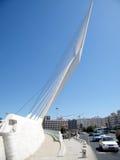 Jerusalem chords Brücke am Eingang zur Stadt im Mai 2010 Lizenzfreies Stockfoto