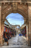 Jerusalem Christian Quarter Stock Photo