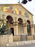 Jerusalem Church of All Nations Facade 2012 Royalty Free Stock Photo