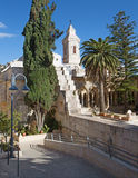 Jerusalem - The Church of the Pater Noster on Mount of Olives. Stock Photos