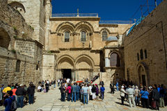 Jerusalem Church of the Resurrection Royalty Free Stock Photography