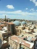 Jerusalem churches. Churchues in Jerusalem old city Royalty Free Stock Image