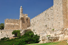 Jerusalem citadel. Royalty Free Stock Images