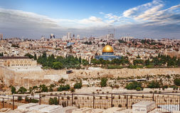 Jerusalem city in Israel Royalty Free Stock Image