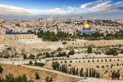 Jerusalem city in Israel Stock Images