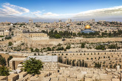 Jerusalem city in Israel Royalty Free Stock Photo