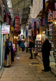 Jerusalem City Market Alley stock image