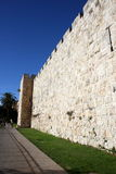 Jerusalem city wall Royalty Free Stock Photos