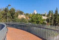 Jerusalem cityscape view. Stock Images