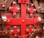 Jerusalem Cross Stock Photo