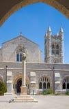 Jerusalem - das Atrium der St- Georgeanglikanerkirche vom Ende von 19 cent Lizenzfreie Stockbilder