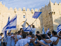 Jerusalem day Stock Image