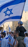Jerusalem day Stock Photos