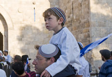 Jerusalem day Stock Photo