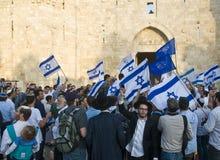Jerusalem day stock images