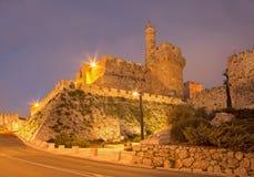 Jerusalem - der Turm von David Lizenzfreie Stockfotografie