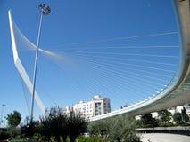 Jerusalem die Akkordbrücke im Mai 2010 Stockfotografie