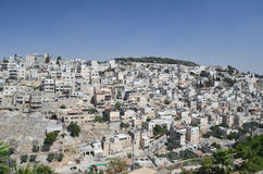 Jerusalem do leste fotografia de stock royalty free