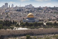 Jerusalem dome Stock Images