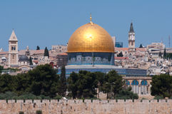 Jerusalem, Dome of the Rock Stock Images