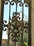 Jerusalem door. A door in a fence in Jerusalem Stock Photography